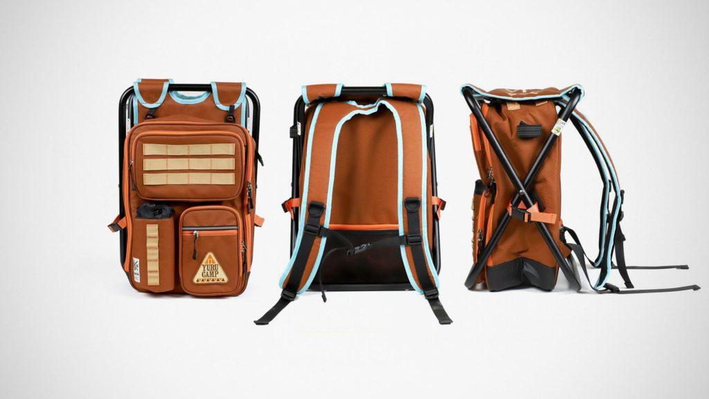 Yurucamp x Ispack Backpack Field Chair