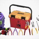 <em>Evangelion</em> Has A Bunch Of EVA Units-themed Work Tools, Not For Repairing EVA Units