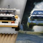 Old Audi Quattro Rally Car Racing Scenes Recreated In LEGO And Immortalized In Stills