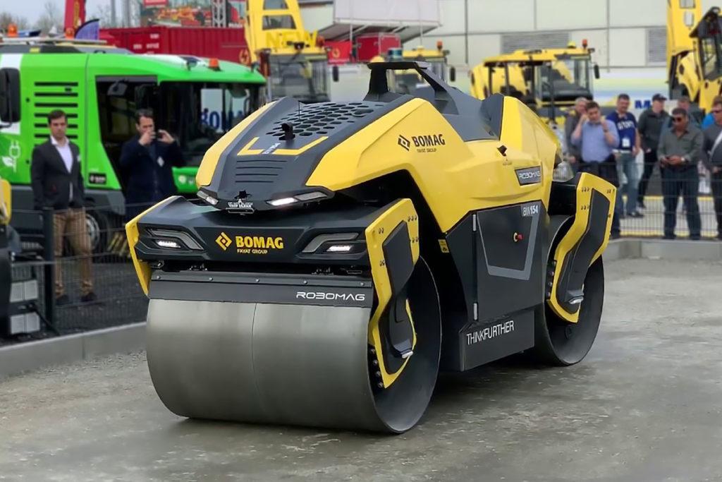 BOMAG Robomag Autonomous Tandem Roller
