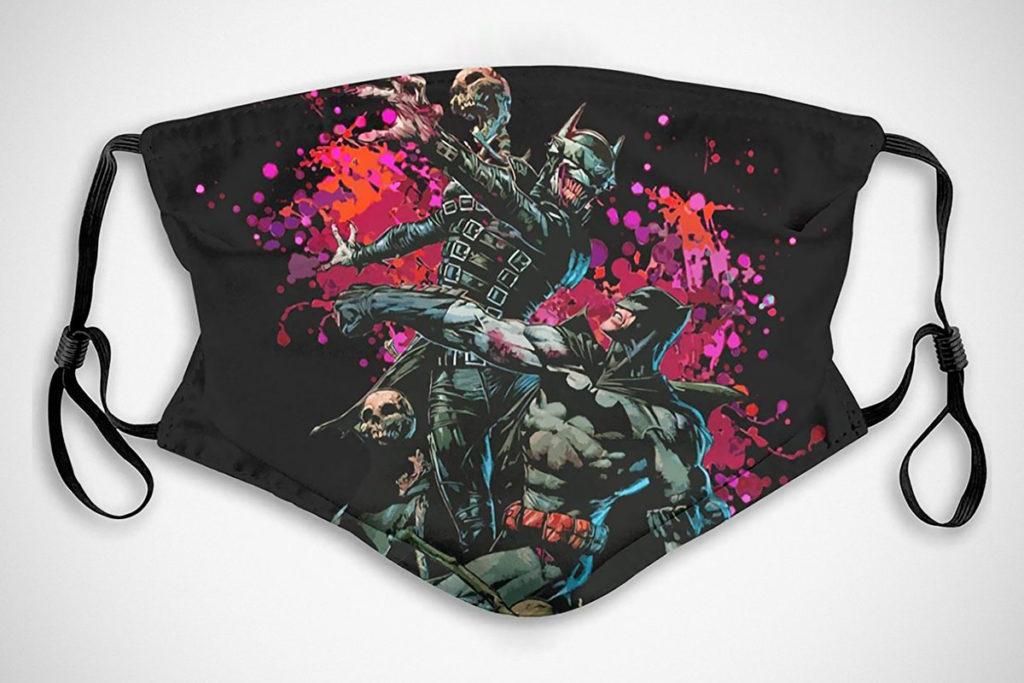 Batman Vs Bat-Laughs-Man Fashion Face Mask