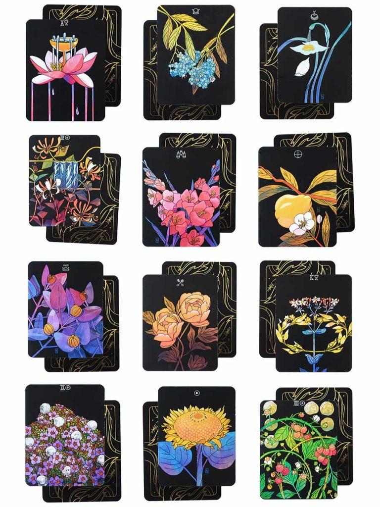 Botanica Flower-themed Tarot Cards