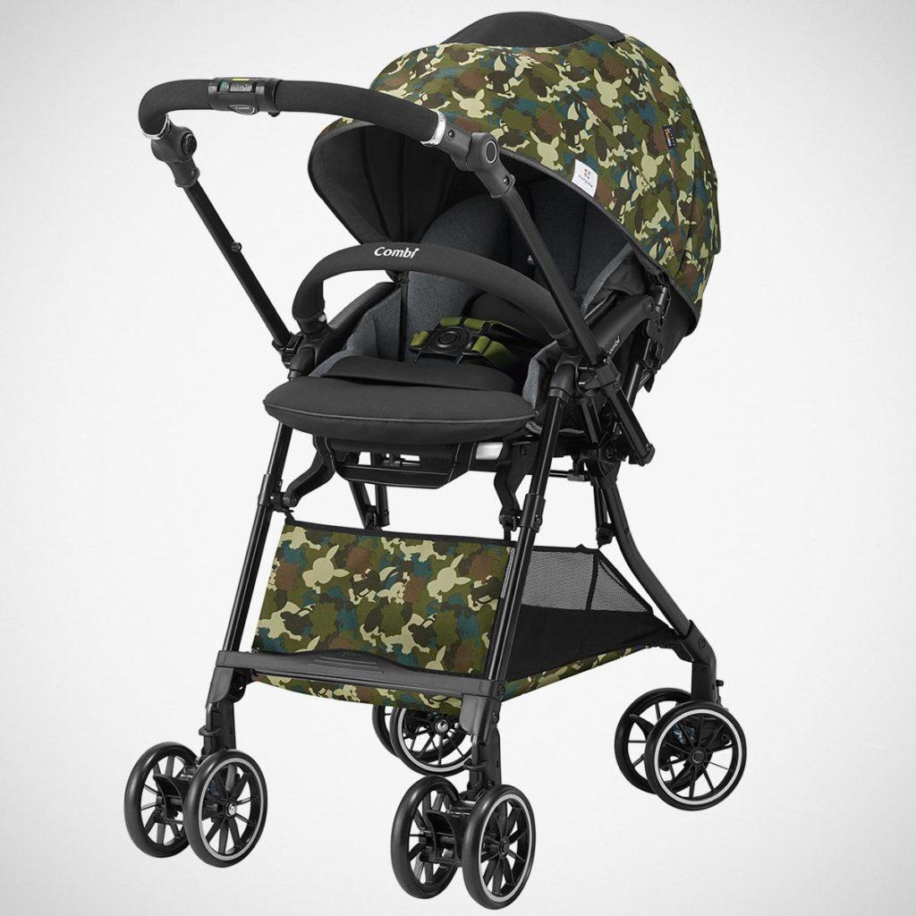 Combi x Monpoke Sugocal α Baby Stroller