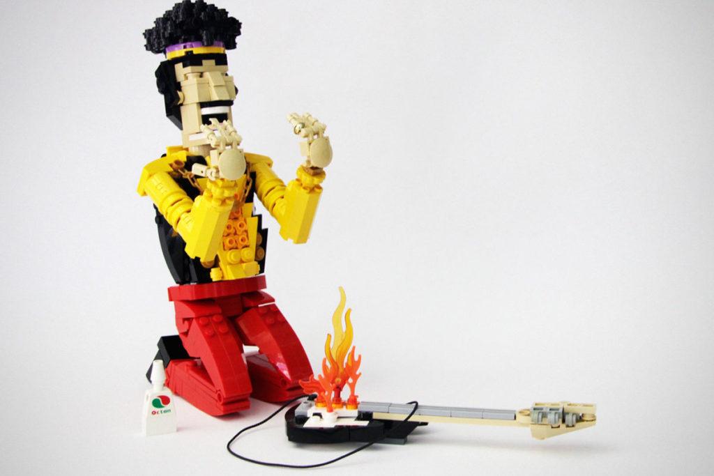 Custom LEGO Jimi Hendrix by pedrovezini_8152