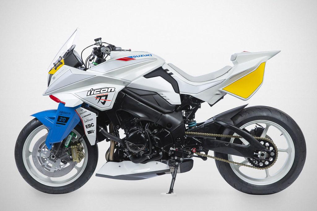 Custom Suzuki Gundam 2020 Katana Bike