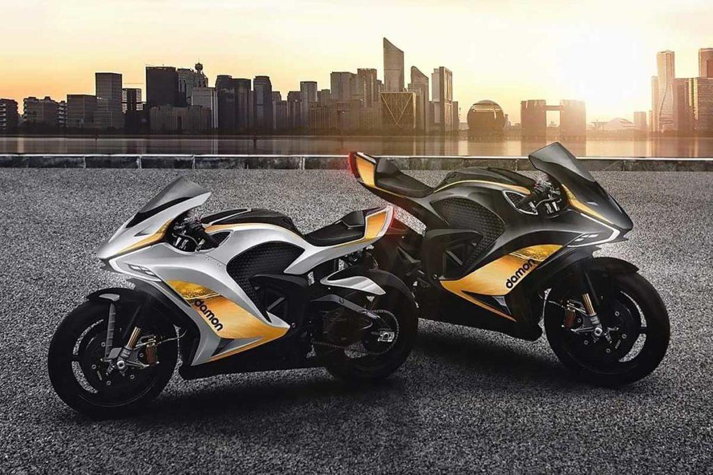 Damon Hypersport Premier Electric Superbike