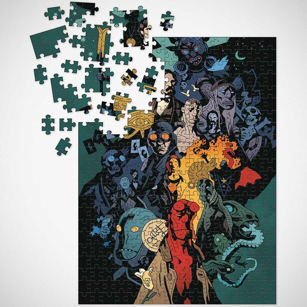 Dark Horse Deluxe Hellboy 1000-piece Puzzle
