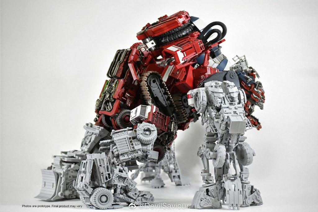 Devil Saviour Third-party Transformers Devastator