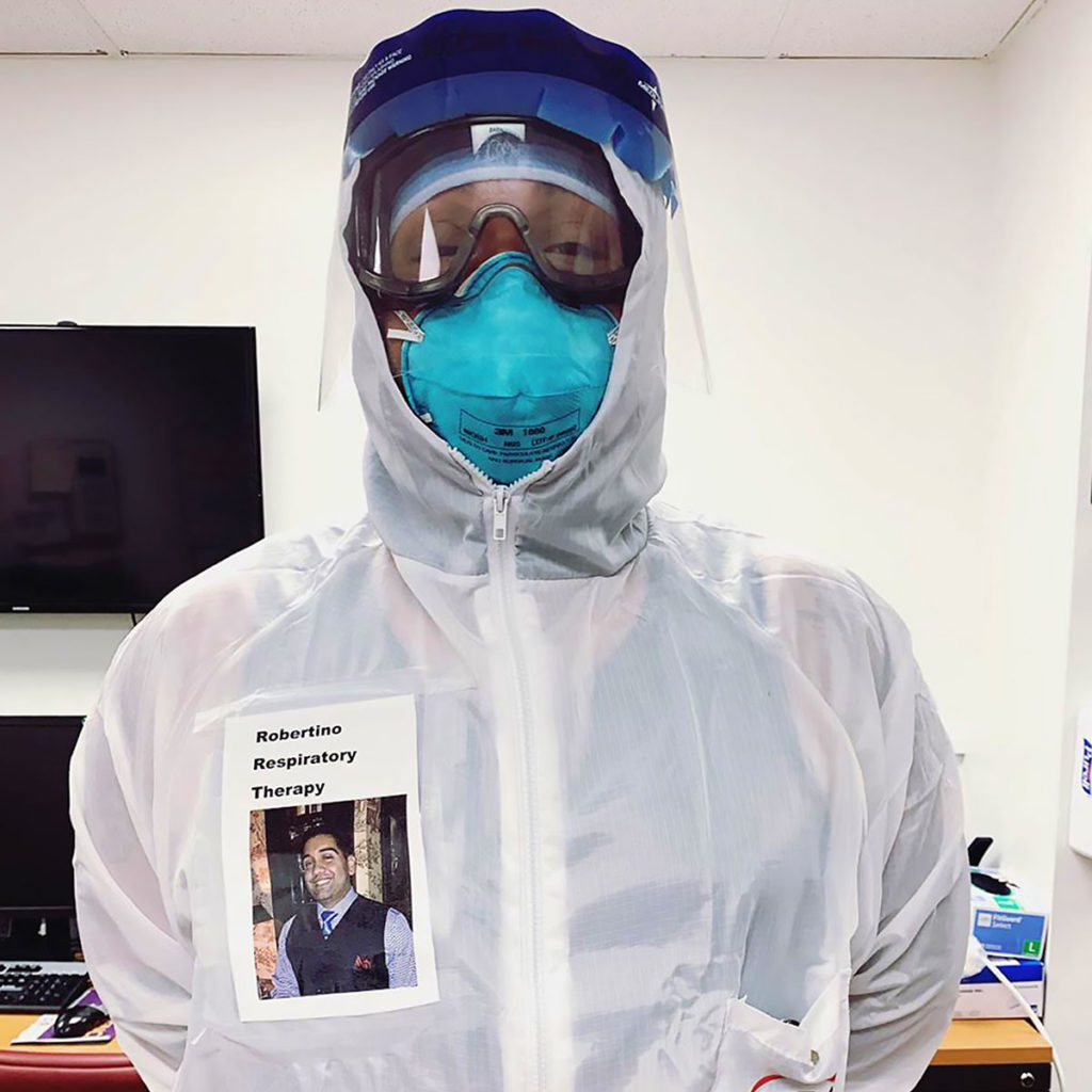 Healthcare Workers Have Smiling Photos On PPE