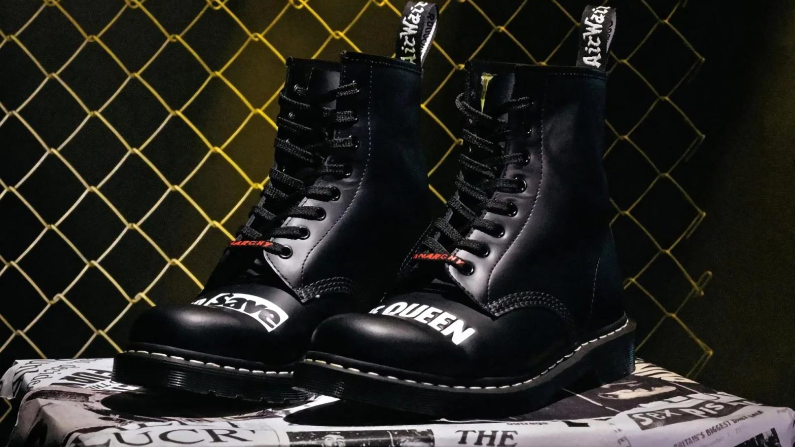 Dr. Martens x Sex Pistols 1460 Remastered Boots
