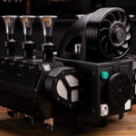 Espresso Veloce RS Black Edition Is A Porsche 993 Boxer Engine-inspired Coffee Maker