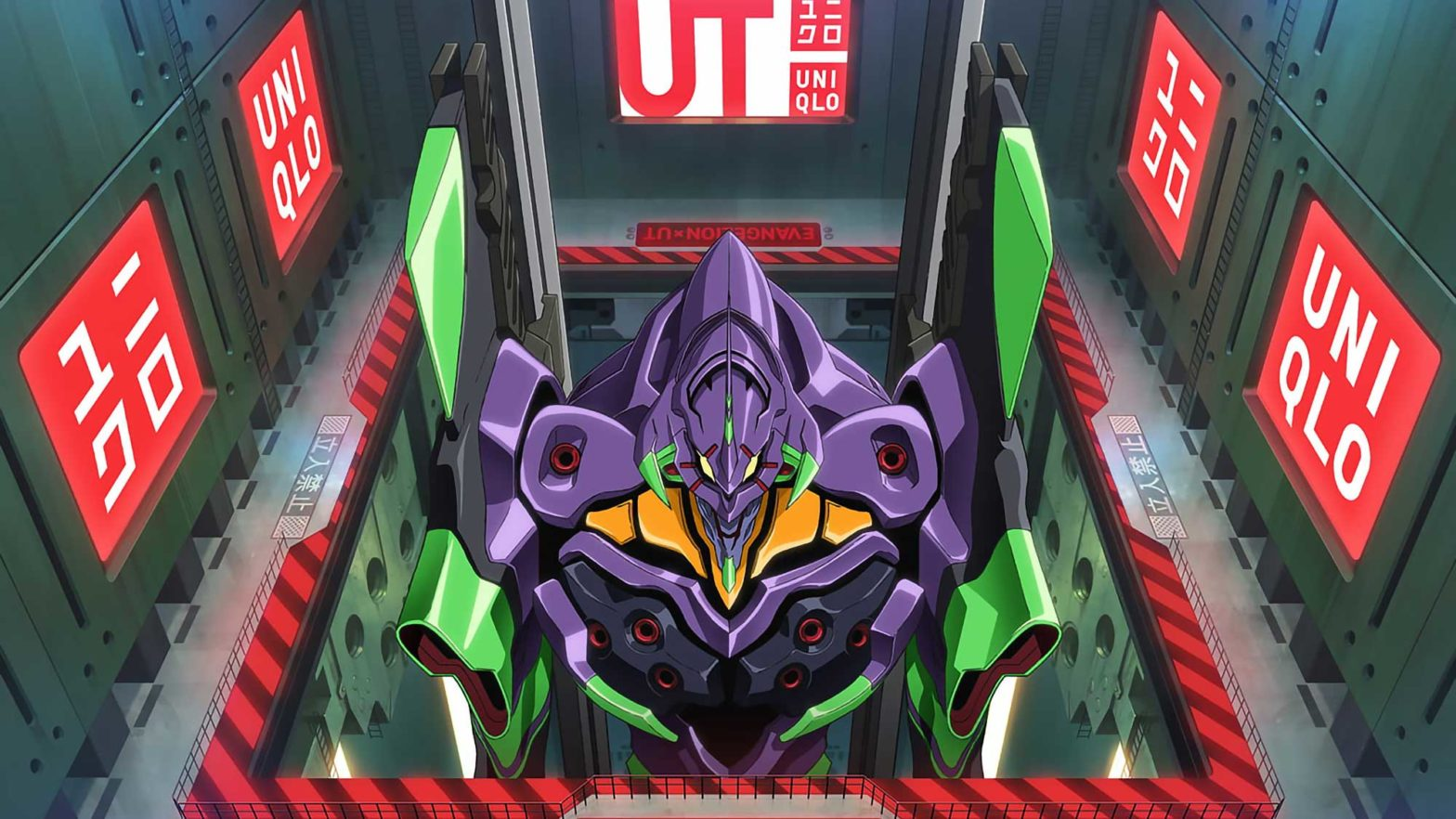 Evangelion and Gunpla Uniqlo Collection 2020