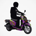 In Japan, You Will Have A Chance To Win A 50cc <em>Evangelion</em> Scooter