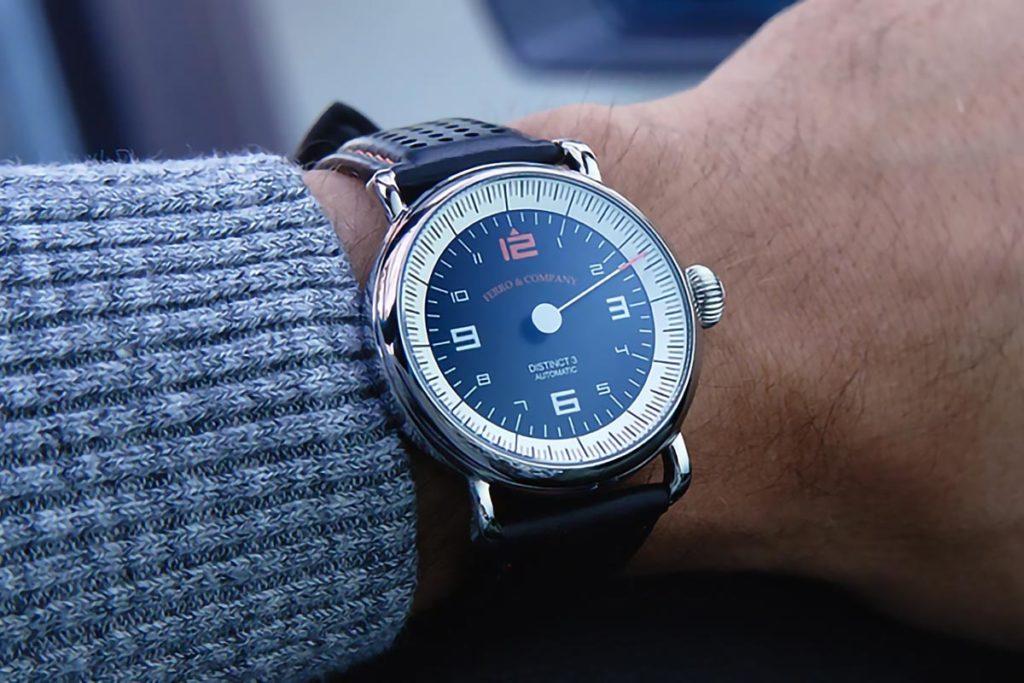 Ferro & Co. Distinct 3 Vintage Racing Watch