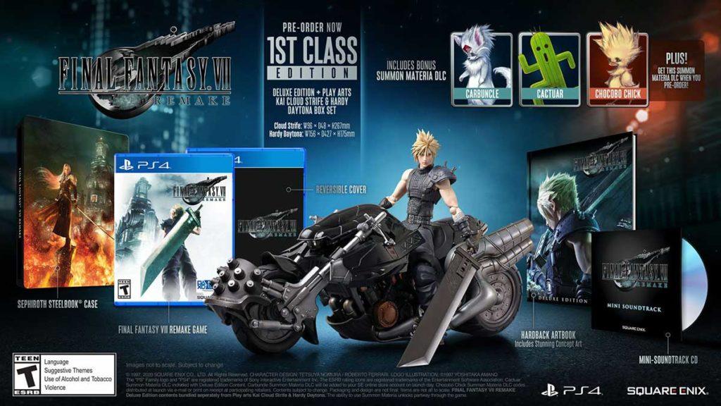 Final Fantasy VII Remake 1st Class Edition