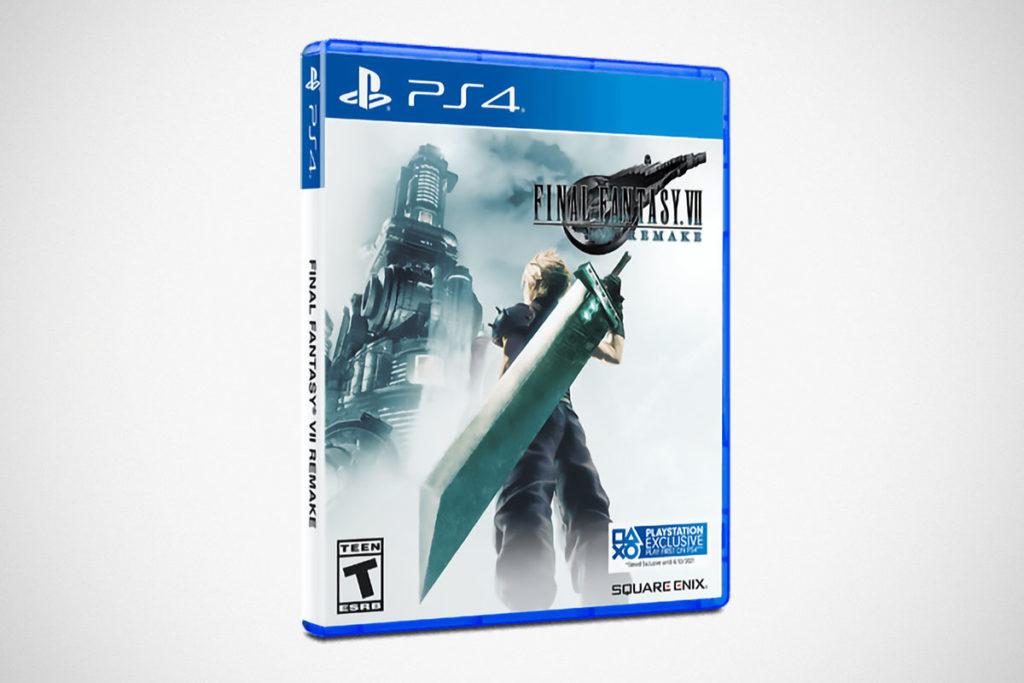 Final Fantasy VII Remake Video Game Standard Edition