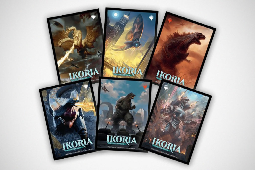 Godzilla Joins Magic The Gathering Card Game