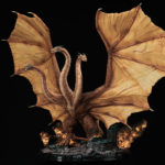 King Of <em>Godzilla</em> Statues: King Ghidorah Statue Stretches 4.5 Feet Wing To Wing!
