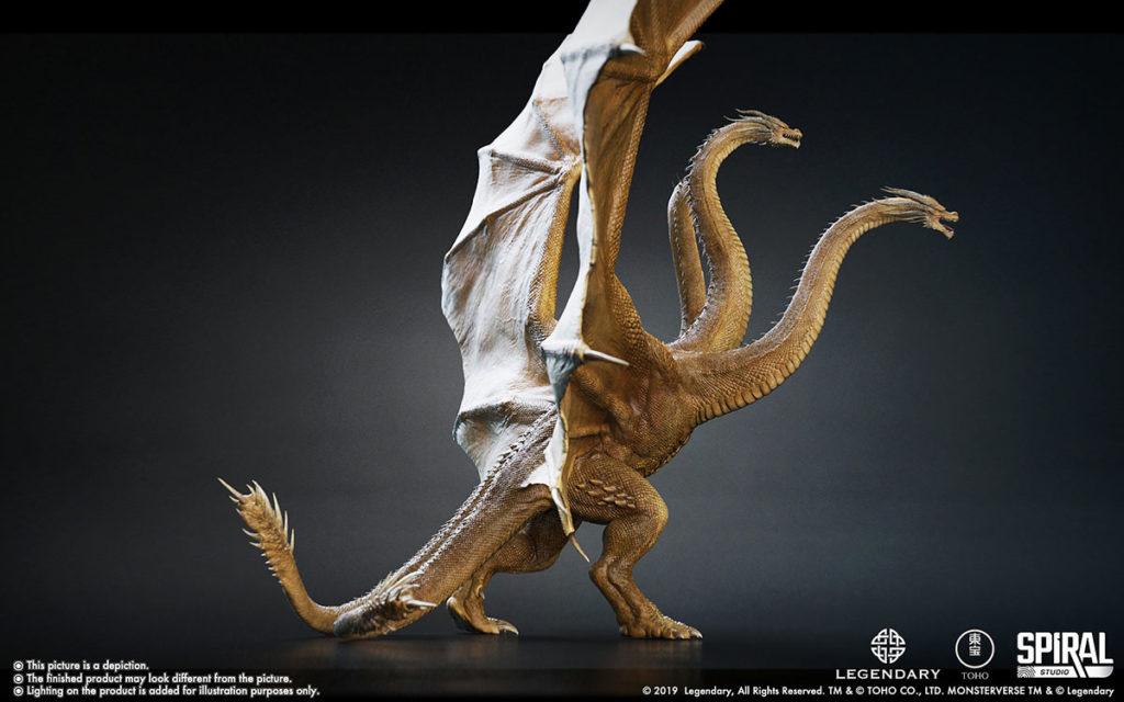 Ultimate Masterline Premium Statue: King Ghidorah Standard Edition
