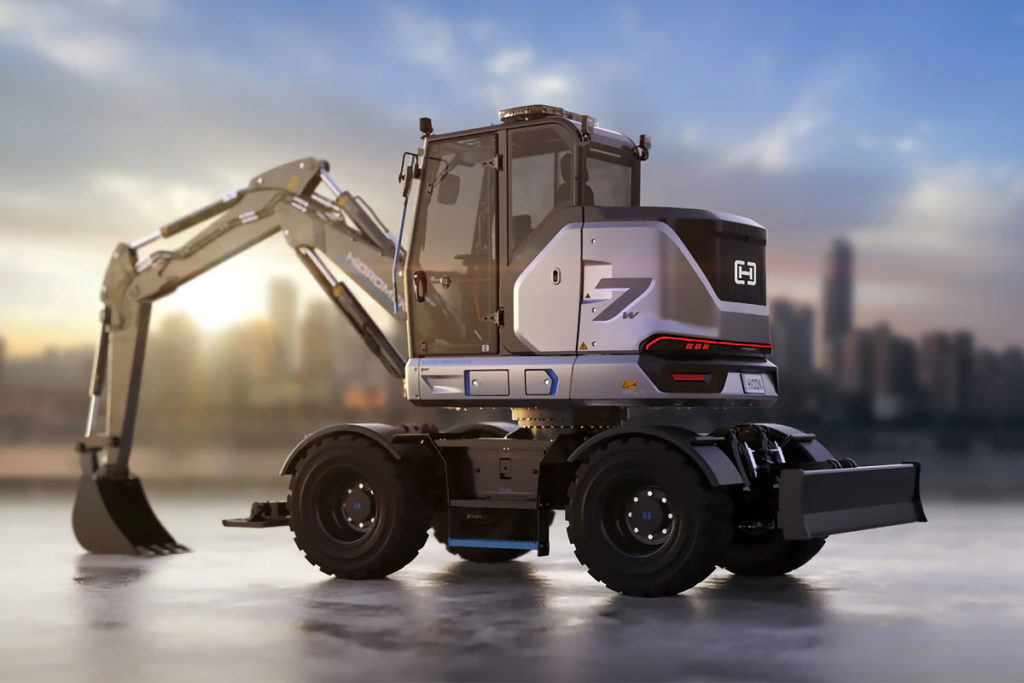 Hidromek HICON 7 W Electric Wheel Excavator