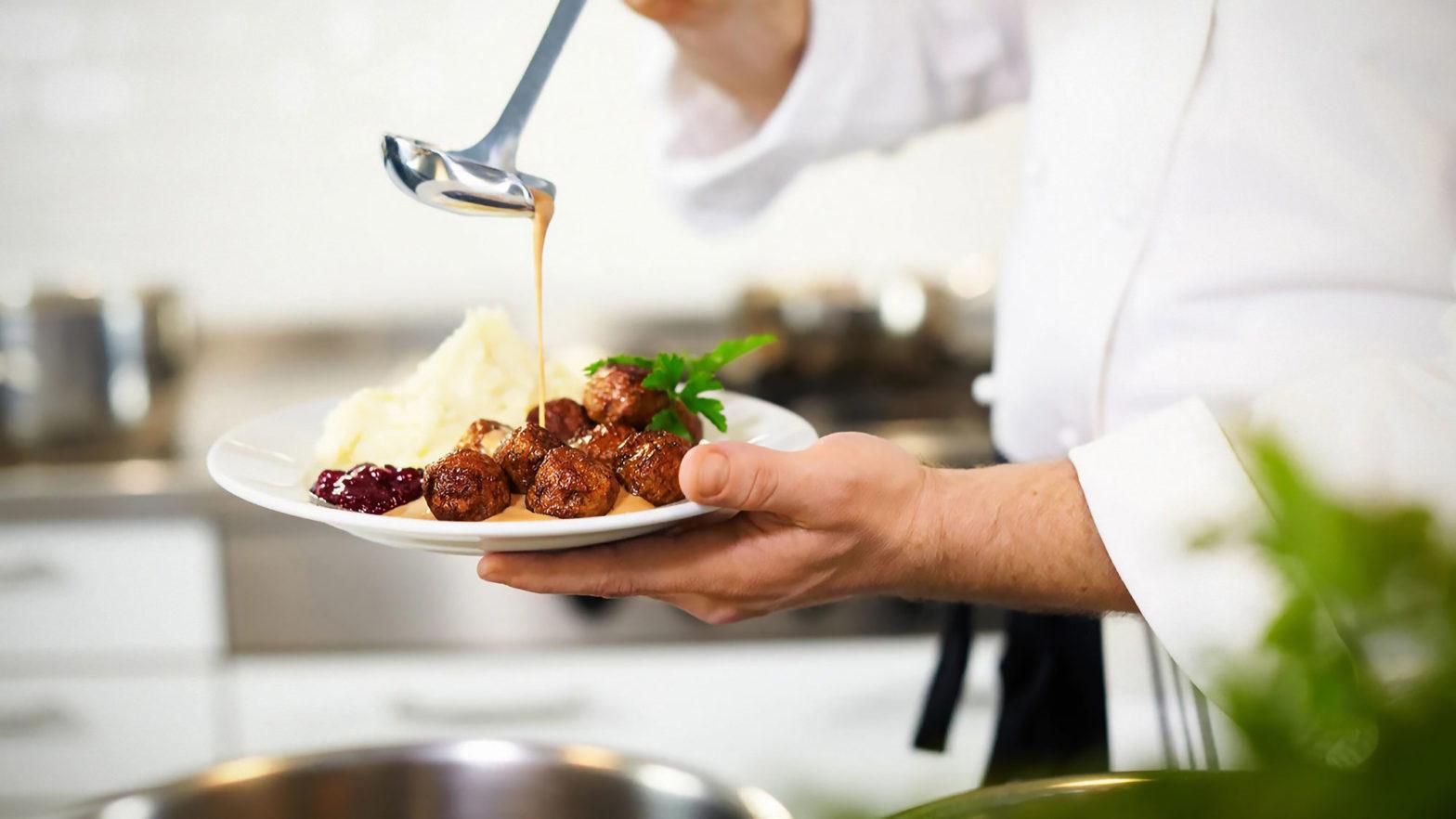 IKEA Shares Its Swedish Meatball Recipe