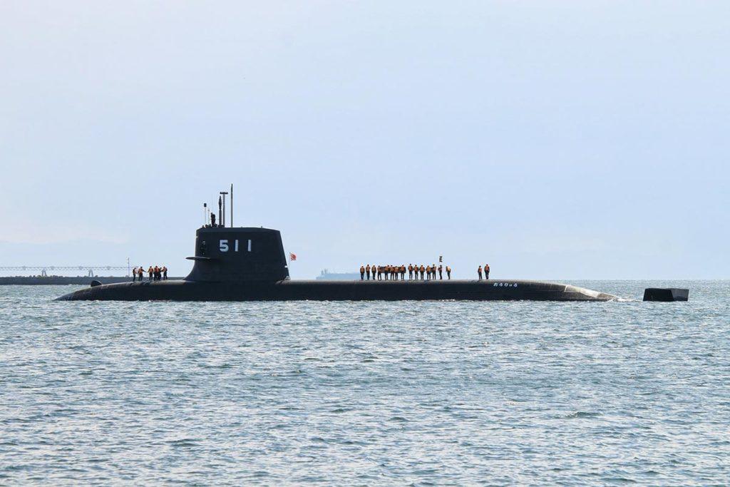 JMSDF JS Ōryū SS-511 Attack Submarine