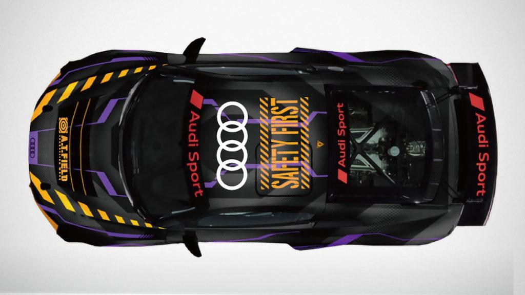 Jammy Evangelion A.T. Field Audi R8 LMS GT4