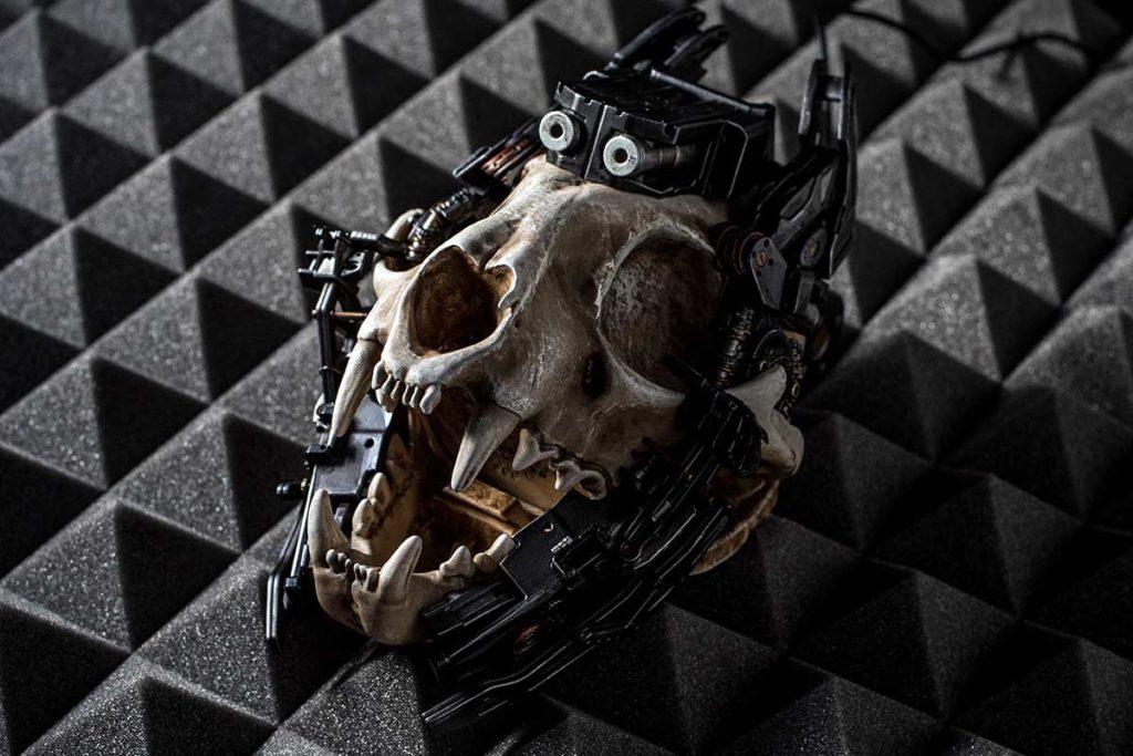 Kranio Cyberpunk Hi-Fi Bluetooth Speaker