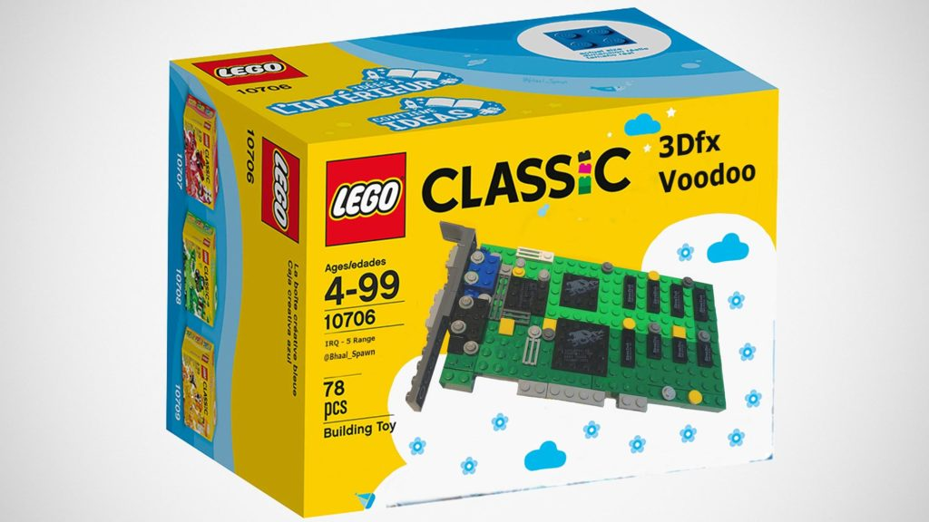 LEGO 3dfx Interactive Voodoo 3D Graphics Card Is Fun, But It ...