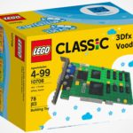LEGO 3dfx Interactive Voodoo 3D Graphics Card Is Fun, But It Probably Won't Be A Real Set