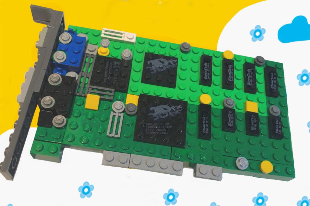 LEGO 3dfx Interactive Voodoo 3D Graphics Card