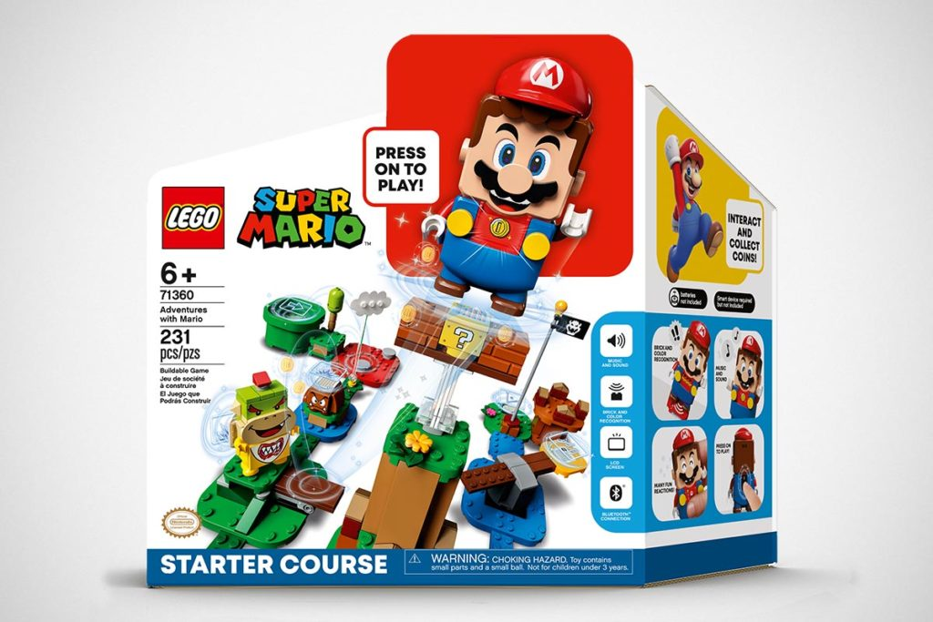 LEGO 5006216 Super Mario Starter Kit Bundle with Gift