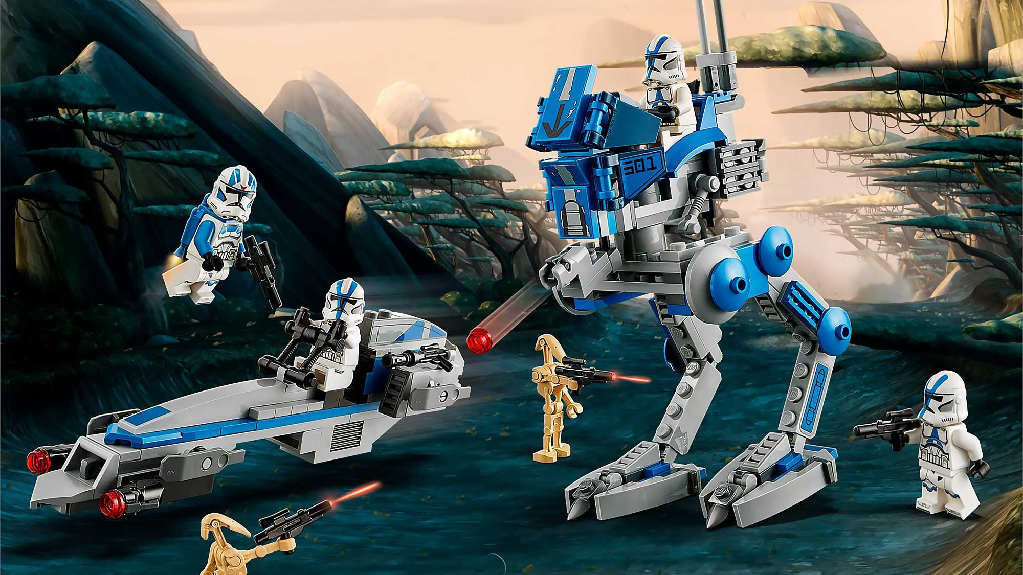 lego listened to fans announced surprised star wars 501st