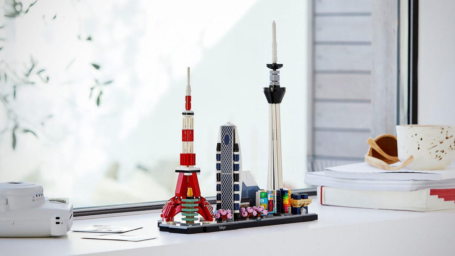 LEGO Architecture Dubai and Tokyo Set