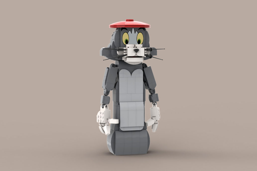 LEGO Tom and Jerry Figures by BrickGallery