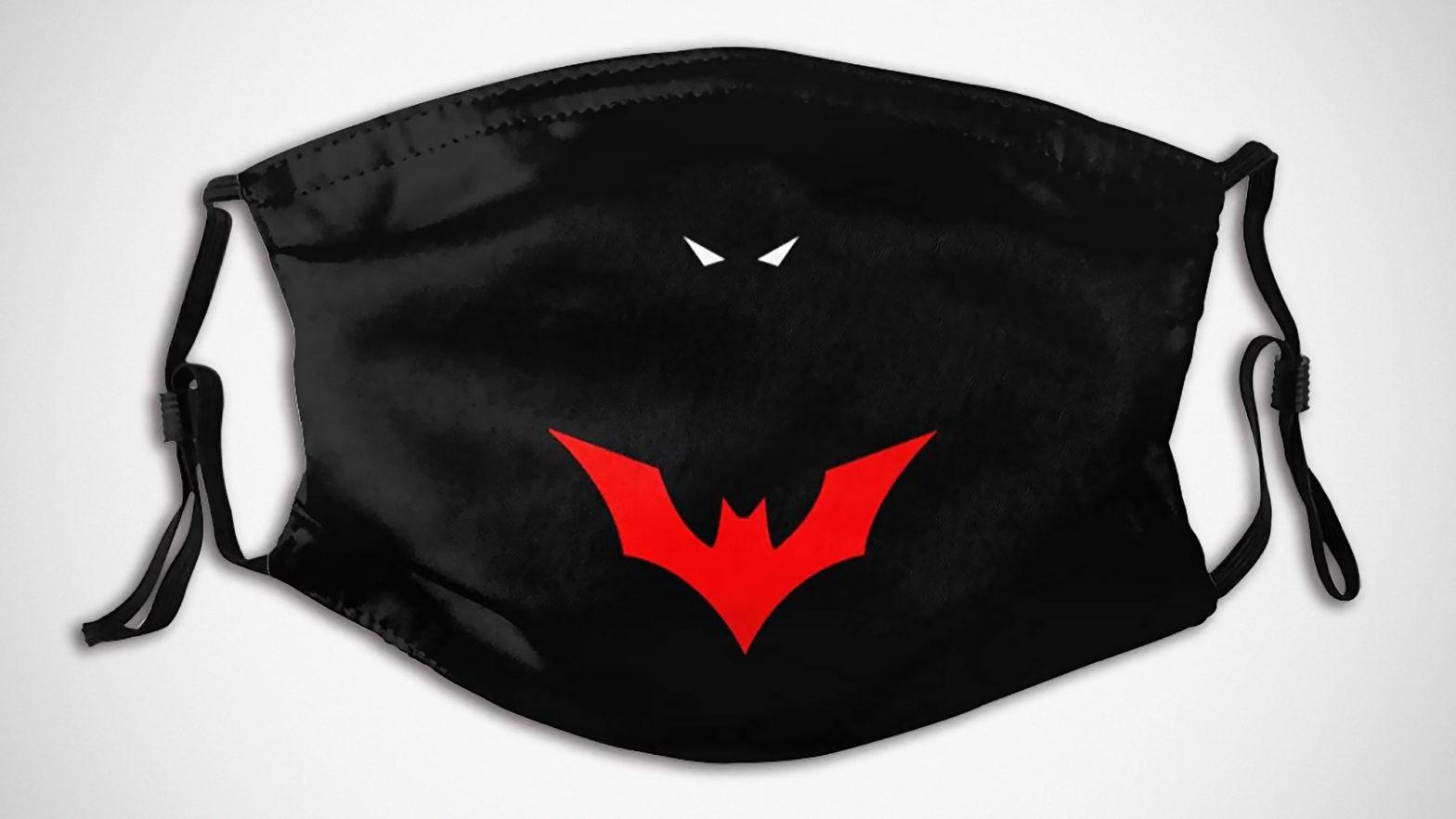 LEHUa Batman Beyond Washable Face Mask