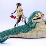 Princess Leia Kills Jabba The Hutt Scene Immortalized Forever In LEGO Bricks