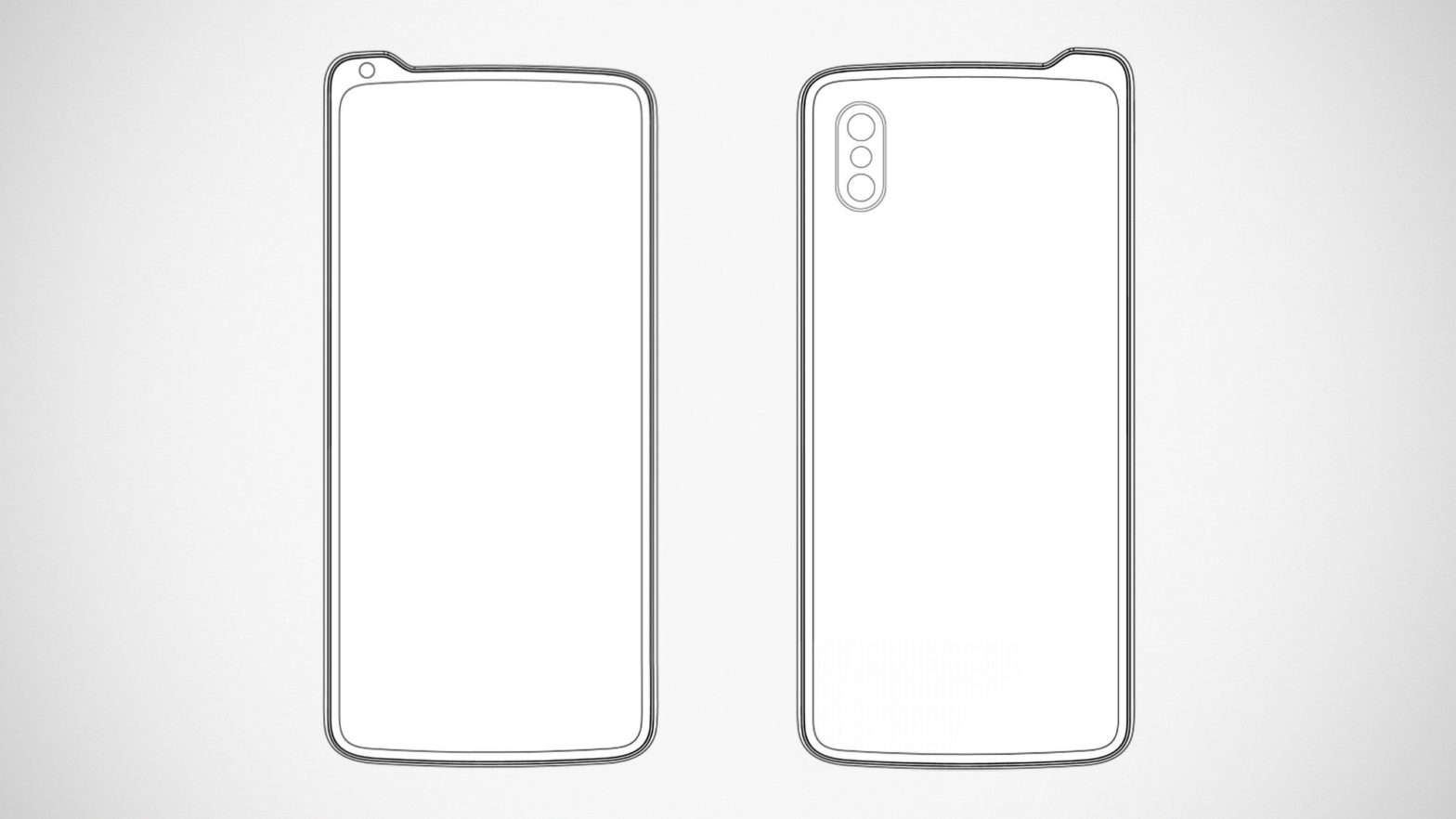 Lenovo Filed Inverted Notch Phone Design