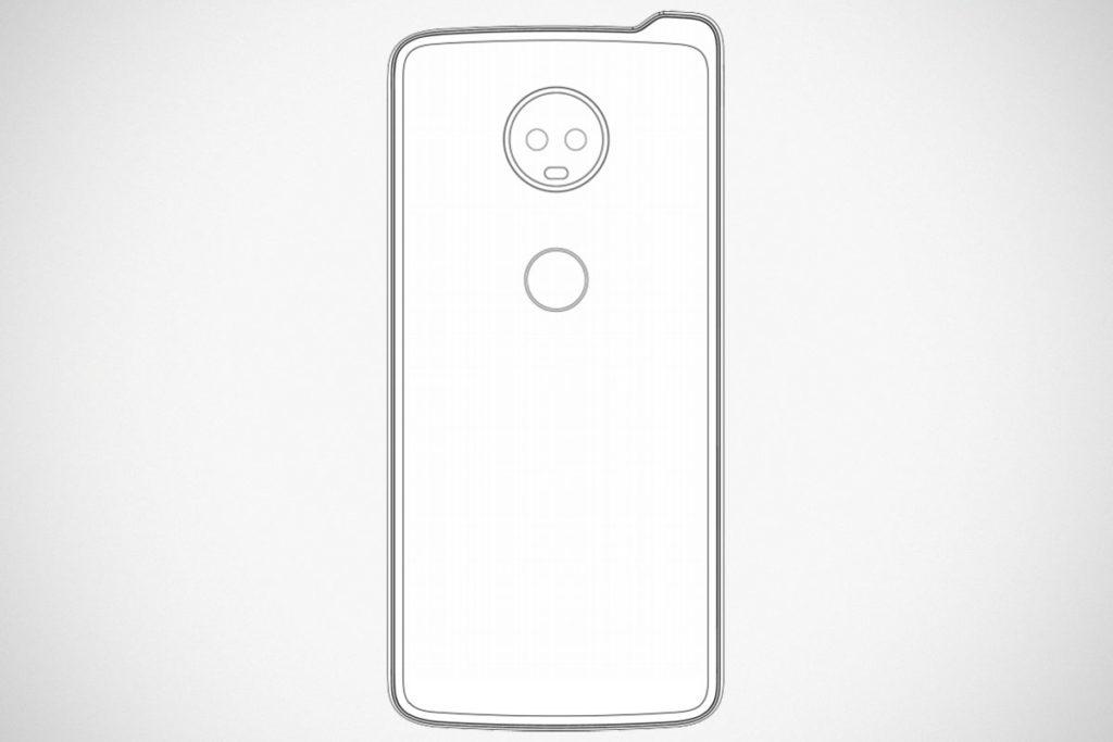 Lenovo Filed Inverted Notch Phone Design