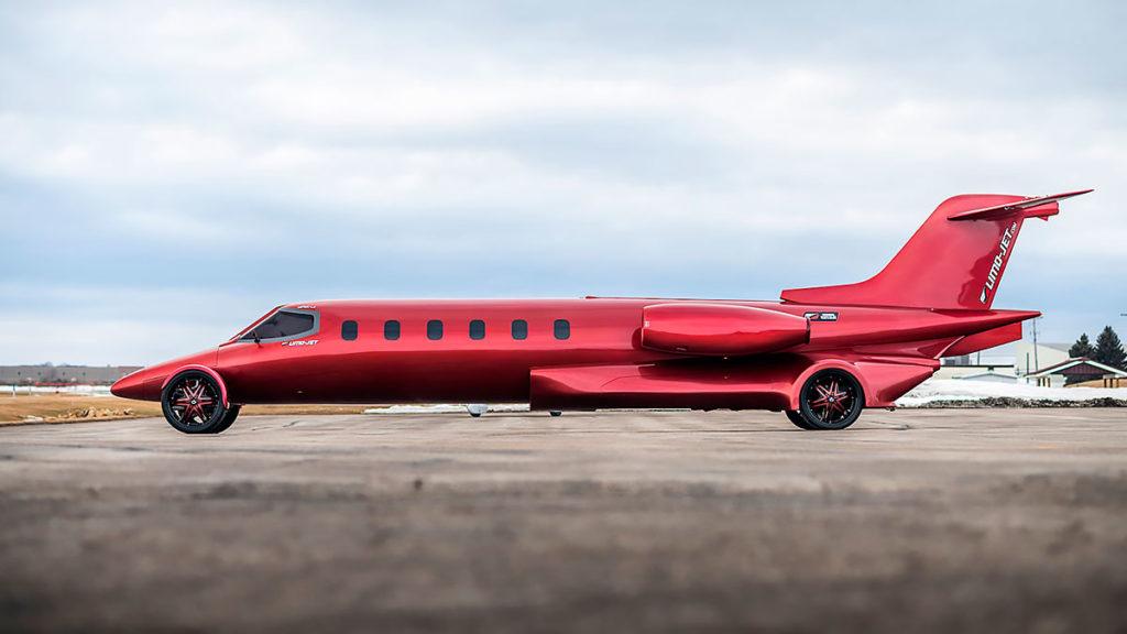 Limo-Jet 42' Lear Jet Learmousine Concept Auction