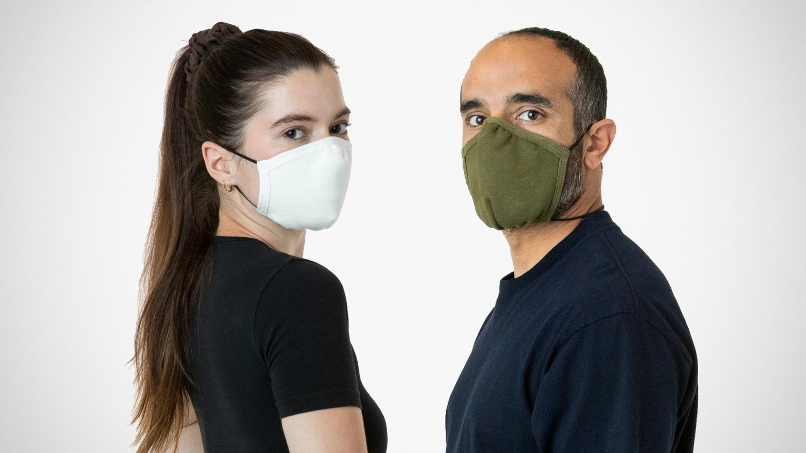 Los Angeles Apparel Facemask3 Face Mask