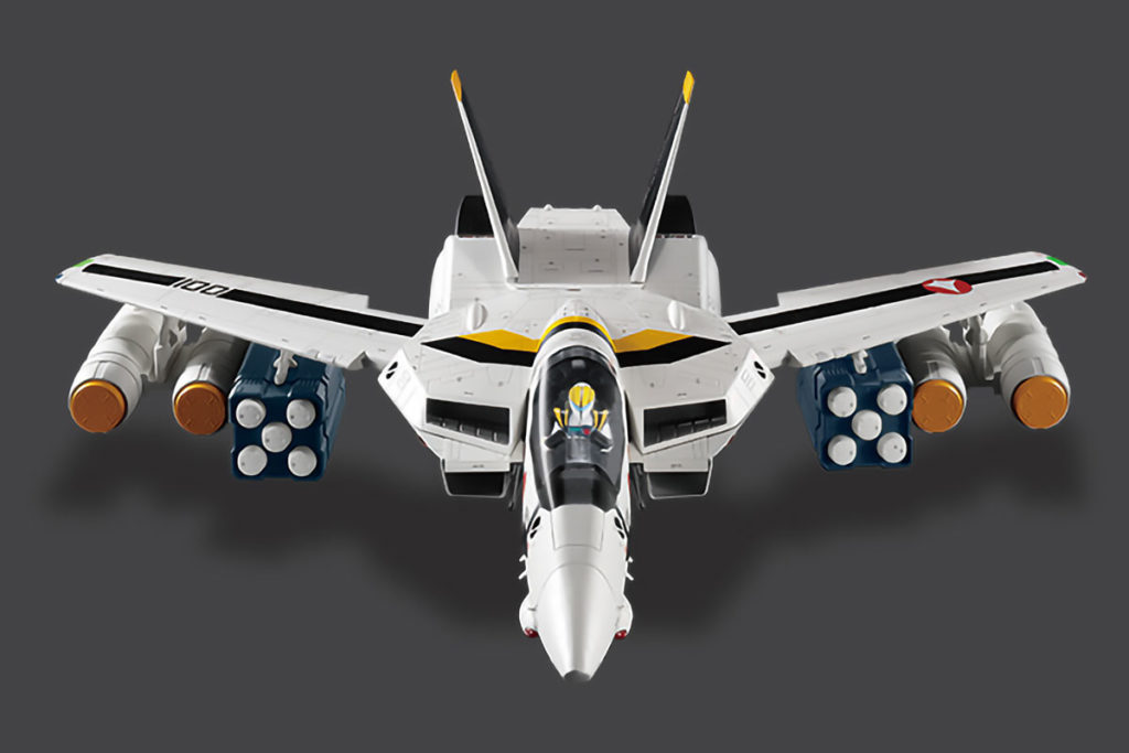Macross VF-1 Valkyrie Model with Magazines