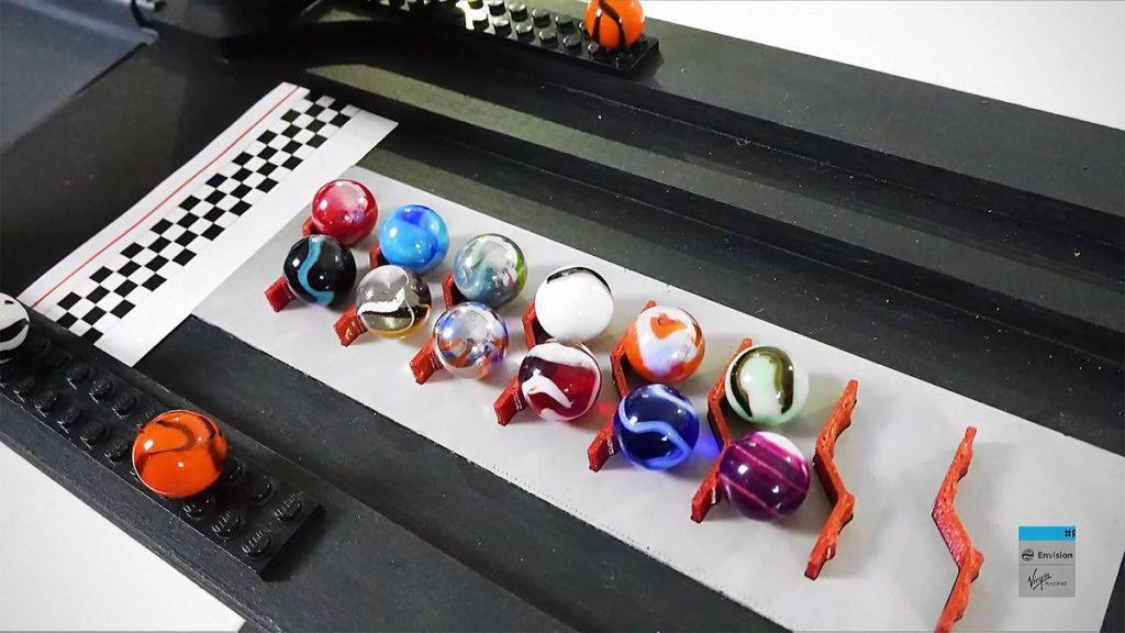 Marbula E Race 1 Marble Race