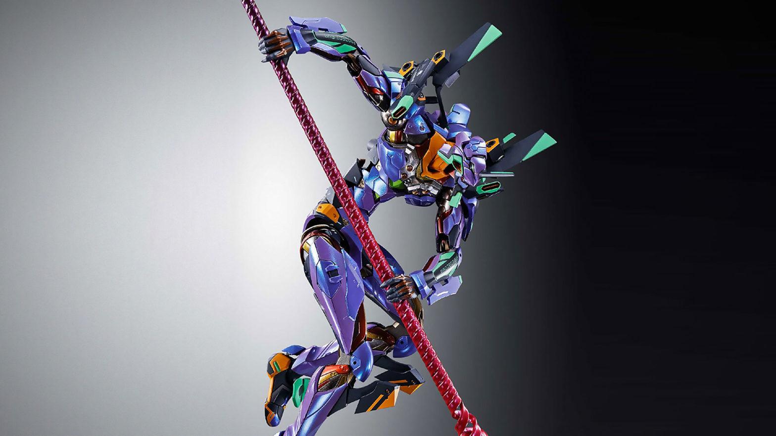 Bandai Metal Build Evangelion Unit-01 Test Type Figure