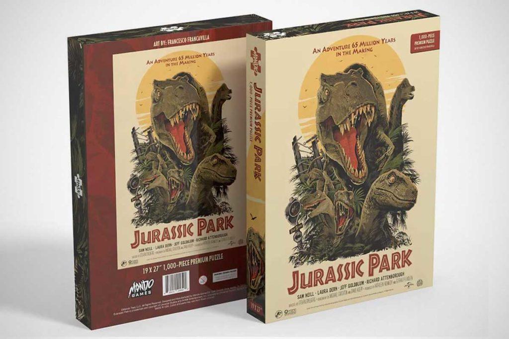 Mondo Jurassic Park 1000-piece Puzzle