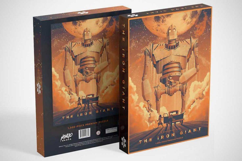Mondo The Iron Giant 1000-piece Puzzle