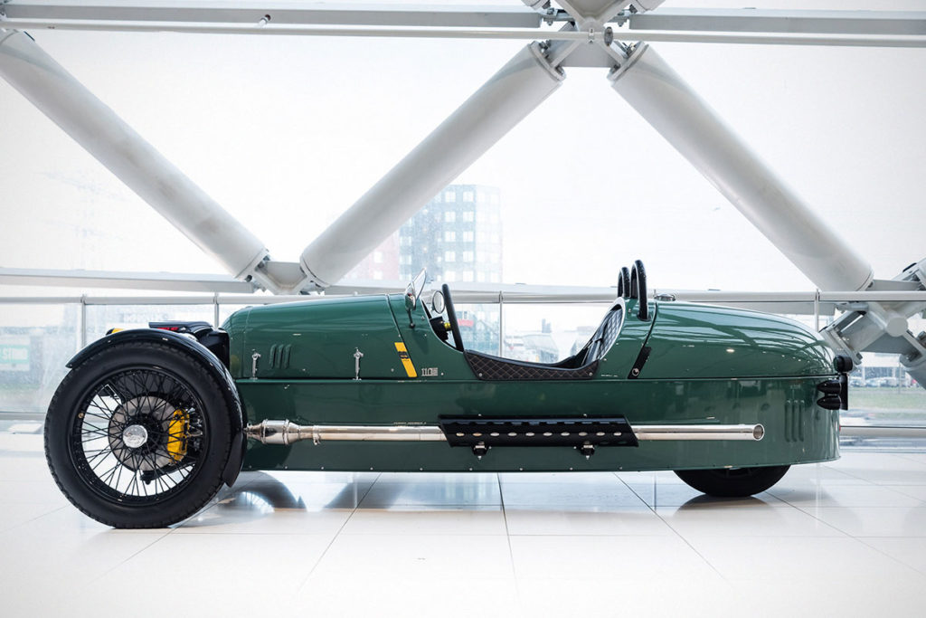 Morgan Almond Green LE60 Morgan 3 Wheeler
