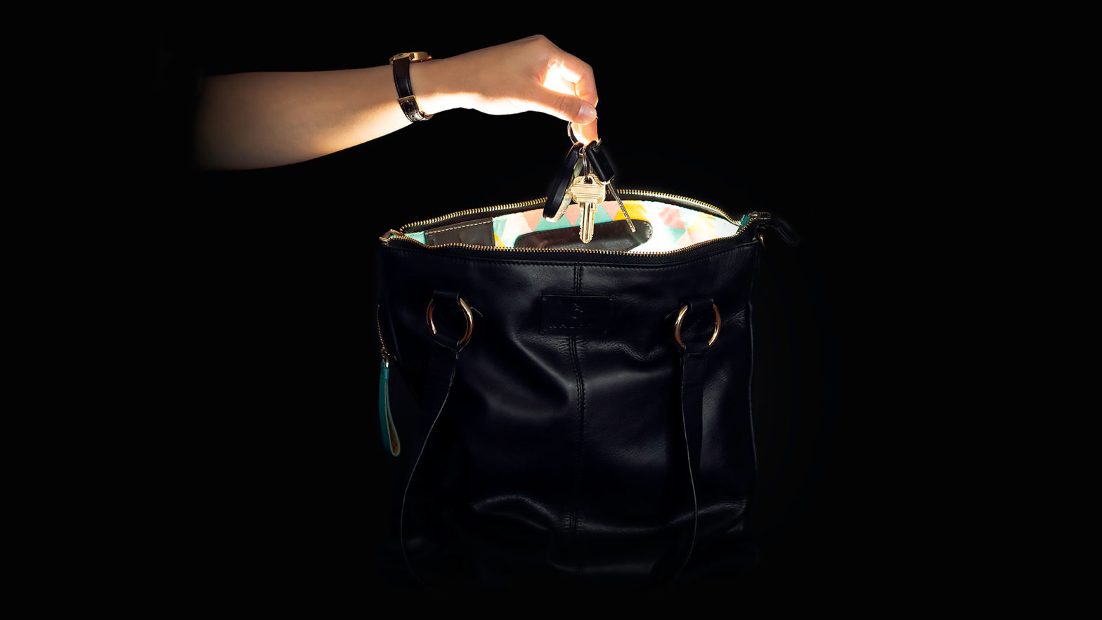 Nalphi Light-up Luxury Tote Bag