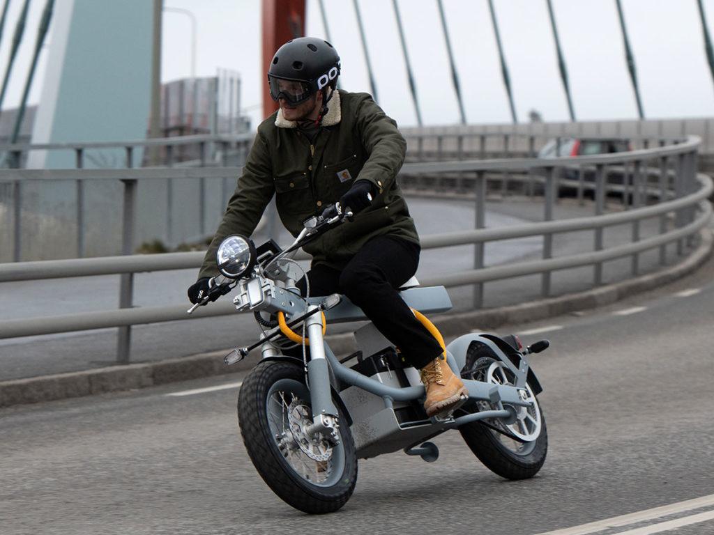 Ösa Electric Off-road Motorbike by Cake 0 Emission AB
