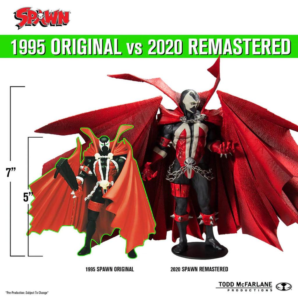 Original Spawn Action Figure Remastered